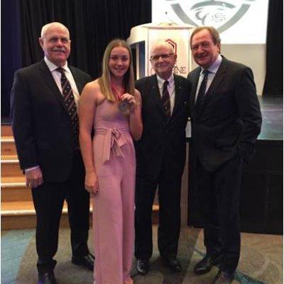 QWAFL Rising Star Tarni White Awarded Carbine Club of QLD Harry Gordon Medal