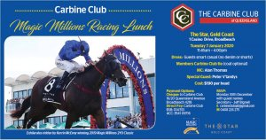Magic Millions Racing Lunch 2020
